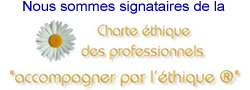 Charte éthique des professionnels : Accompagner par l'éthique®